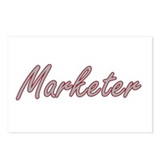 Marketer Artistic Job Des Postcards (Package of 8)