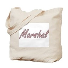Marshal Artistic Job Design Tote Bag