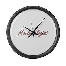 Martyrologist Artistic Job Design Large Wall Clock
