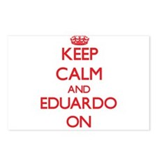 Keep Calm and Eduardo ON Postcards (Package of 8)