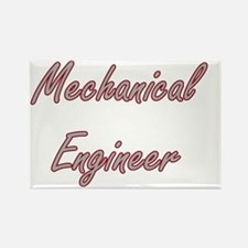 Mechanical Engineer Artistic Job Design Magnets