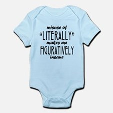 Misuse of Literally Infant Bodysuit