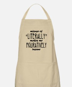Misuse of Literally Apron