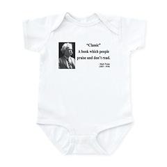 Mark Twain 25 Infant Bodysuit