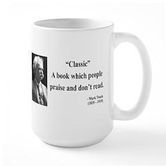 Mark Twain 25 Mug