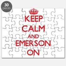 Keep Calm and Emerson ON Puzzle