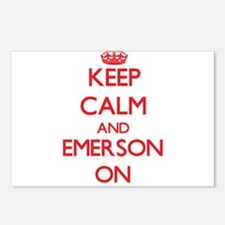 Keep Calm and Emerson ON Postcards (Package of 8)