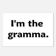 I'm The Gramma Postcards (Package of 8)