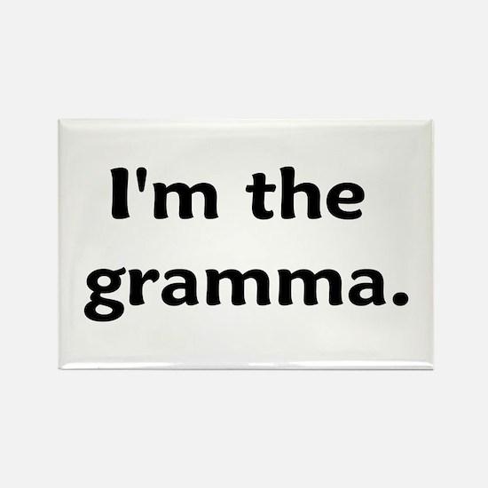 I'm The Gramma Rectangle Magnet