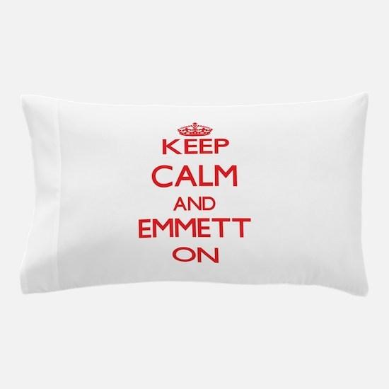 Keep Calm and Emmett ON Pillow Case