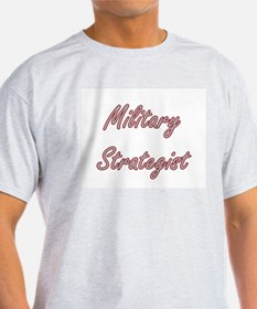 Military Strategist Artistic Job Design T-Shirt