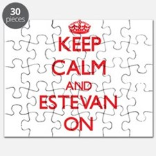 Keep Calm and Estevan ON Puzzle