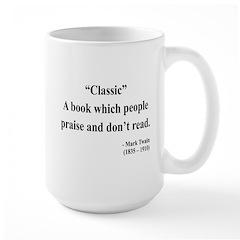 Mark Twain 25 Large Mug