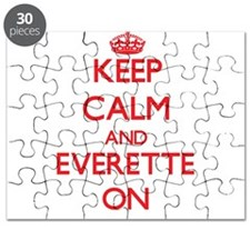 Keep Calm and Everette ON Puzzle