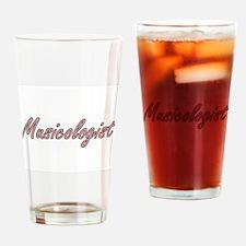 Musicologist Artistic Job Design Drinking Glass