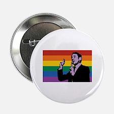 "Harvey Milk Flag 2.25"" Button (100 pack)"
