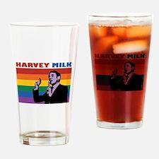 Harvey Milk Drinking Glass