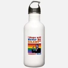Hope Will Never Be Silent Water Bottle