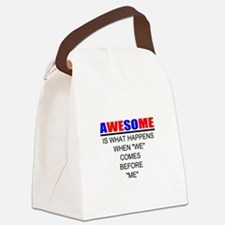 Inspiration Canvas Lunch Bag