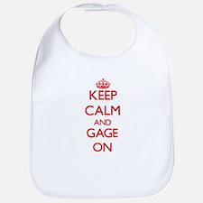 Keep Calm and Gage ON Bib