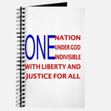 One Nation Flag Journal