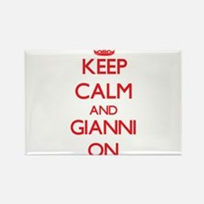 Keep Calm and Gianni ON Magnets