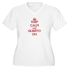 Keep Calm and Gilberto ON Plus Size T-Shirt