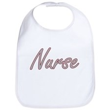 Nurse Artistic Job Design Bib