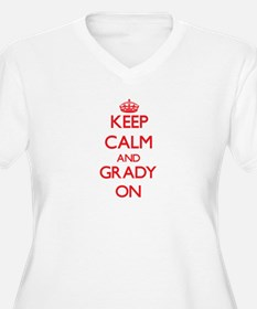 Keep Calm and Grady ON Plus Size T-Shirt