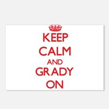 Keep Calm and Grady ON Postcards (Package of 8)