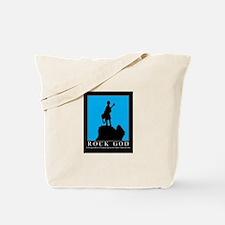 Rock God Tote Bag