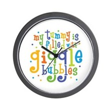 Giggle Bubbles Wall Clock