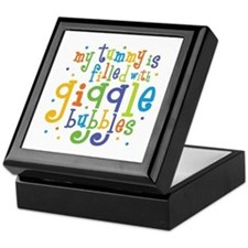 Giggle Bubbles Keepsake Box