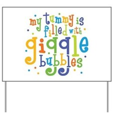 Giggle Bubbles Yard Sign