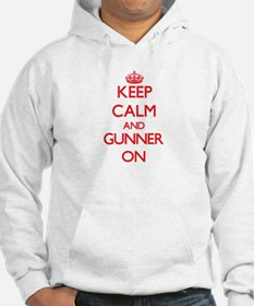 Keep Calm and Gunner ON Hoodie