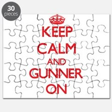 Keep Calm and Gunner ON Puzzle