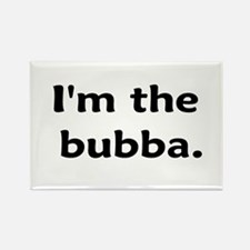 I'm The Bubba Rectangle Magnet (10 pack)