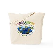 Humanism vs Myth Tote Bag