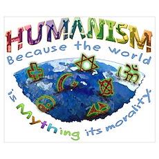Humanism vs Myth Poster