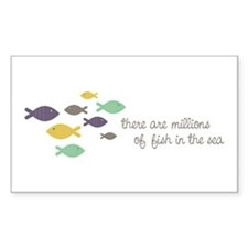 Millions of fish in the sea Decal