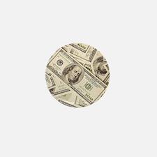 Dollar Bills Mini Button