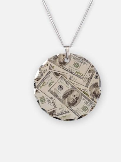 Dollar Bills Necklace