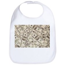 Dollar Bills Bib