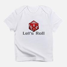 Let's Roll Infant T-Shirt