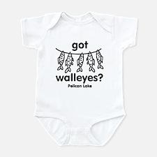 got walleyes? Infant Bodysuit
