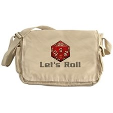 Let's Roll Messenger Bag