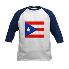Boricua Bandera Puerto Rican Orgul Baseball Jersey