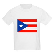 Boricua Bandera Puerto Rican Orgullo 4 Ped T-Shirt