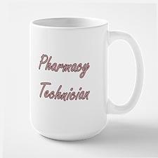 Pharmacy Technician Artistic Job Design Mugs