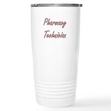Pharmacy Technician Art Travel Mug